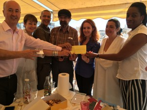Presentation of GSC Crowdfund donation to Athens Clinics
