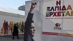 Tsipras election poster